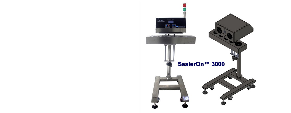 SealerOn3000™ Flat Cap Induction Machine